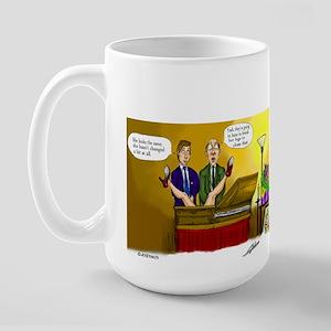 Funeral Large Mug