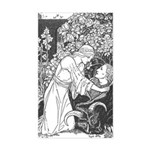 Batten's Beauty & Beast Rectangle Sticker