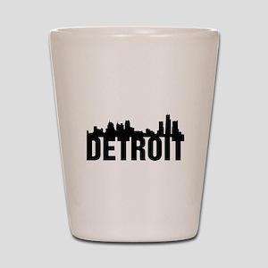 Detroit City Shot Glass