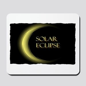 solar eclipse Mousepad