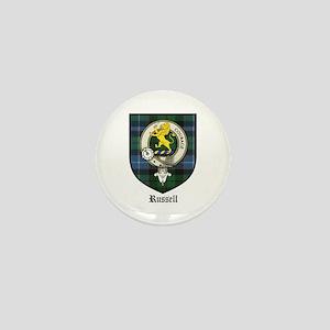 Russell Clan Crest Tartan Mini Button (10 pack)