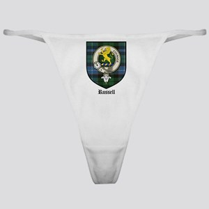 Russell Clan Crest Tartan Classic Thong