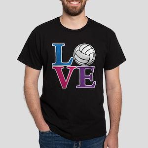 Volleyball LOVE Dark T-Shirt