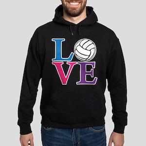 Volleyball LOVE Hoodie (dark)