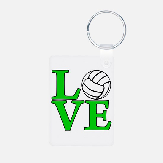 Volleyball Aluminum Keychain (on both sides)