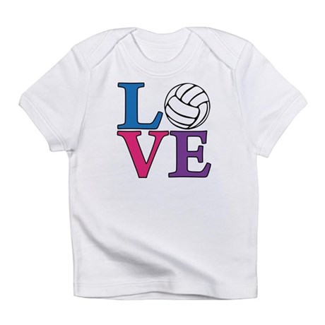 Volleyball LOVE Infant T-Shirt
