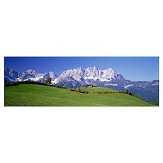 Ellmau Wilder Kaiser Tyrol Austria Poster