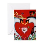 Love at First Flight Greeting Card