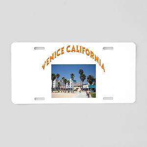 Venice California Aluminum License Plate