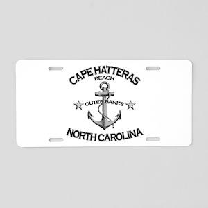 Cape Hatteras Beach, NC Aluminum License Plate