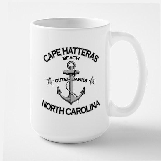 Cape Hatteras Beach, NC Large Mug