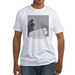 The Grim Flautist Fitted T-Shirt
