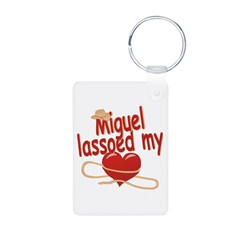 Miguel Lassoed My Heart Keychains