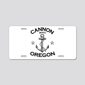Cannon Beach, Oregon Aluminum License Plate