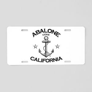 Abalone Cove, California Aluminum License Plate