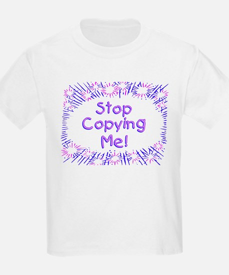 """Baby Copying"" Kids T-Shirt"