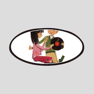 Vinyl Records Love Patches
