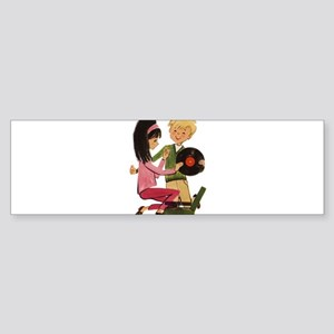 Vinyl Records Love Sticker (Bumper)