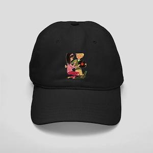 Vinyl Records Love Black Cap