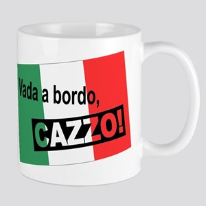 Italian Shipwreck - flag Mug