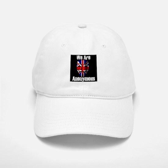 We Are Anonymous UK Baseball Baseball Cap