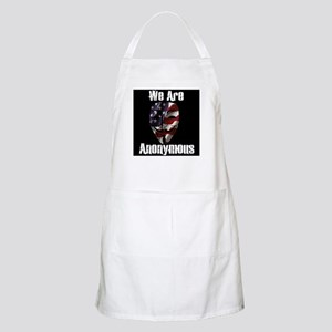 We Are Anonymous USA Apron