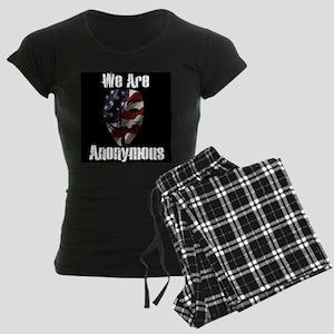 We Are Anonymous USA Women's Dark Pajamas