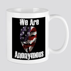 We Are Anonymous USA Mug