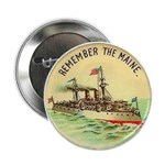 Remember the Maine Button