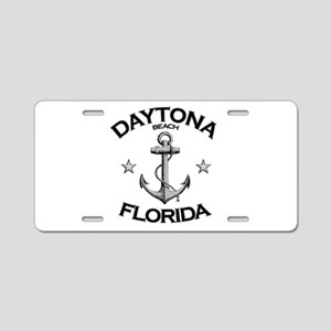 Daytona Beach, Florida Aluminum License Plate