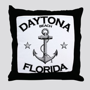 Daytona Beach, Florida Throw Pillow