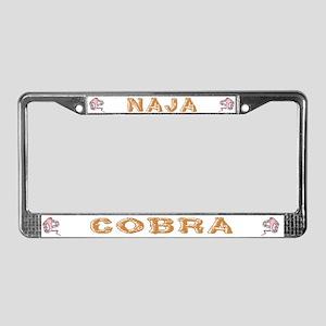 Cobra Nest License Plate Frame