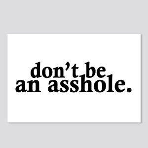 Don't Be An Asshole Postcards (Package of 8)