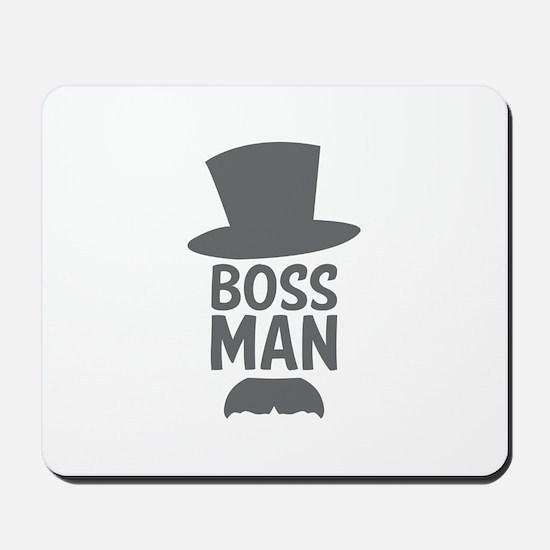 Boss Man Mousepad