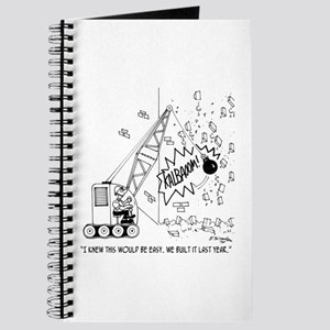 Easy Demolition Journal