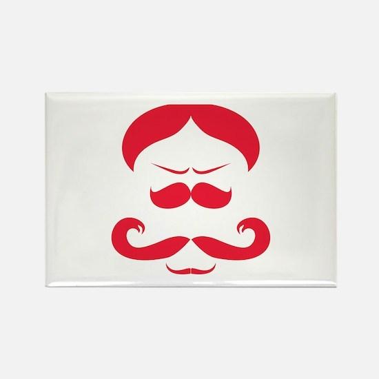 Mister Moustache Rectangle Magnet (10 pack)