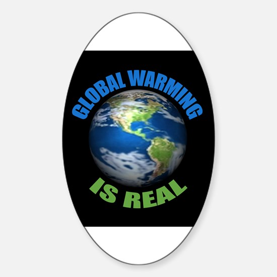 Global Warming - It's the Real Thing Decal