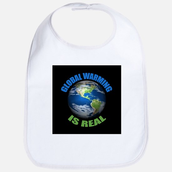 Global Warming - It's the Real Thing Bib