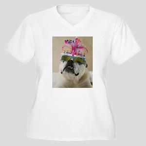 Happy Birthday Women's Plus Size V-Neck T-Shirt