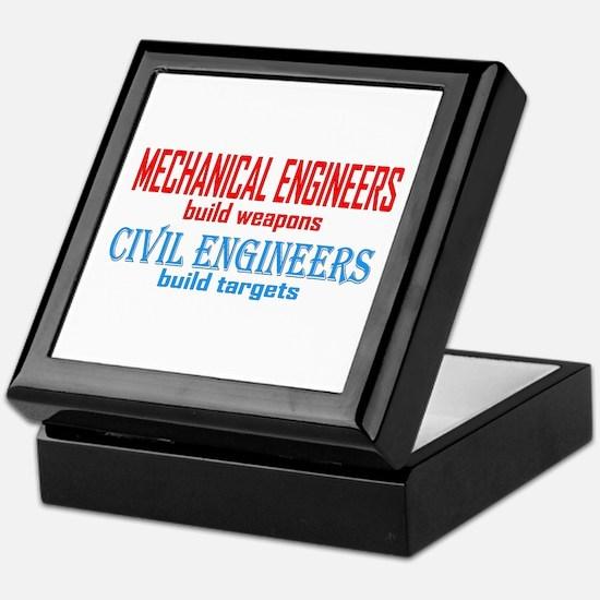 Mechanical vs. Civil Keepsake Box