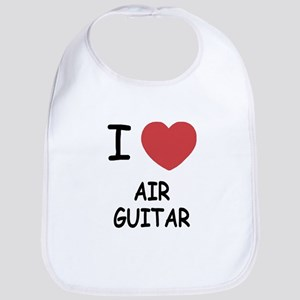 I heart air guitar Bib