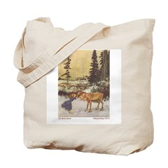 Dulac's Gerda & Reindeer Tote Bag
