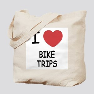 I heart bike trips Tote Bag