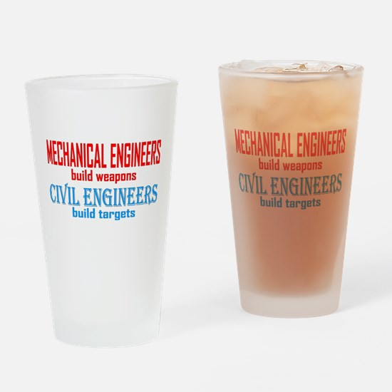 Mechanical vs. Civil Drinking Glass