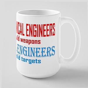 Mechanical vs. Civil Large Mug