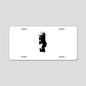 Dude dog Aluminum License Plate