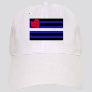 Leather Flag Cap