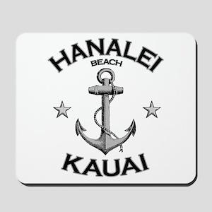 Hanalei Beach, Kauai, Hawaii Mousepad