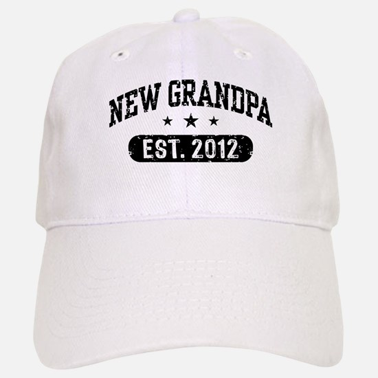New Grandpa 2012 Baseball Baseball Cap
