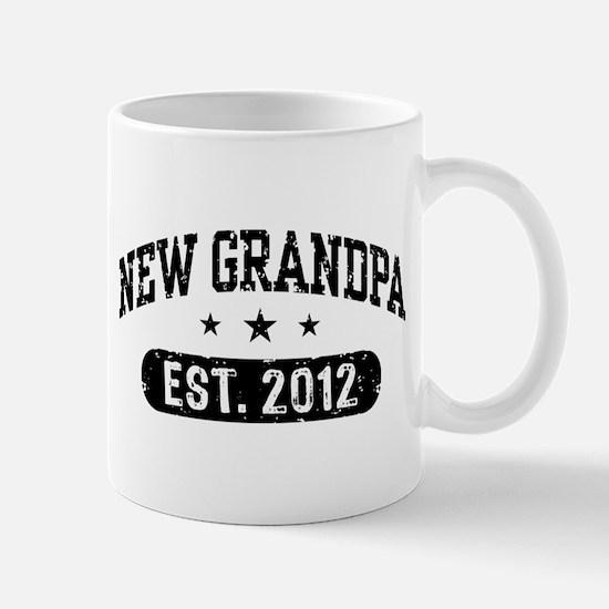 New Grandpa 2012 Mug